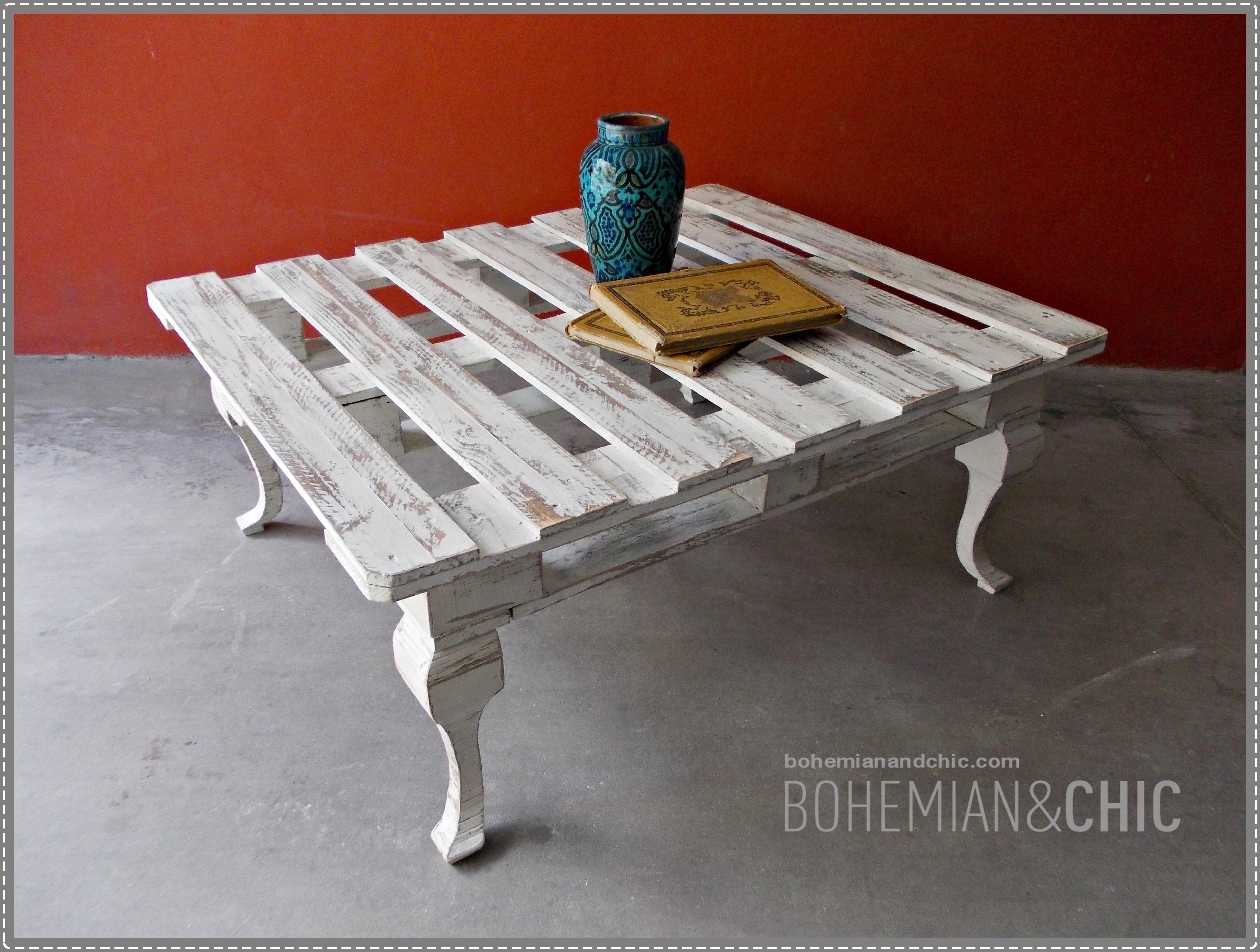Como hacer una mesa de centro con un palet tienda online - Reciclaje de pales ...