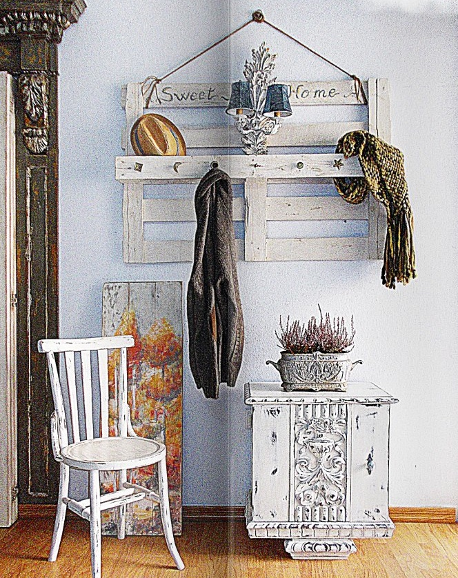 Como decorar una entrada peque a con muebles y objetos - Decorar una entrada estrecha ...