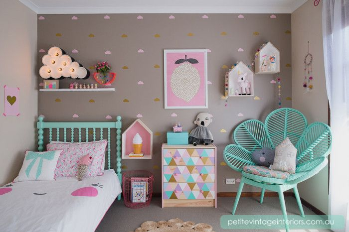 16 ideas para decorar una habitaci n de ni os con muebles for Ideas para pintar habitacion bebe