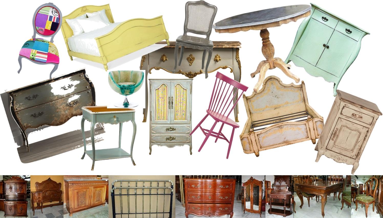 Muebles antiguos y vintage para reciclar antique and for Muebles vintage on line