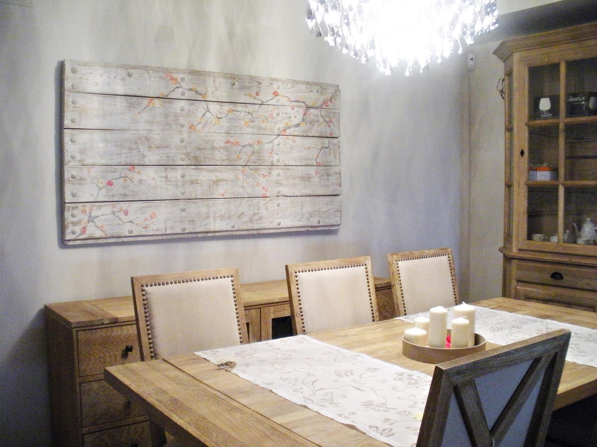 Una puerta convertida en un cuadro para el comedor | Tienda online ...