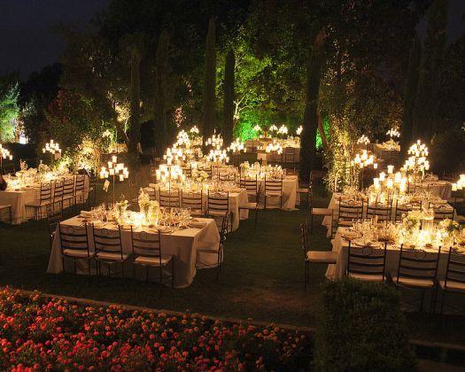 ideas bonitas para la iluminacin de tu boda