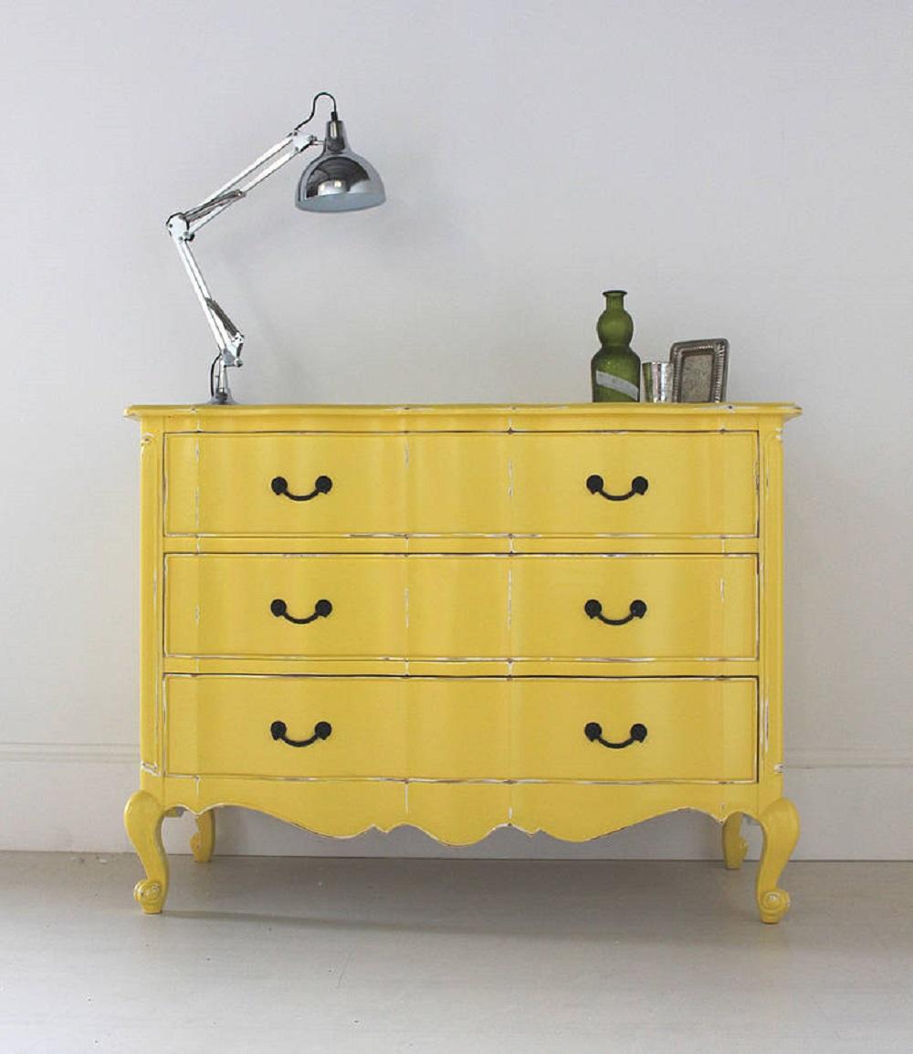 9 t cnicas para pintar una c moda tienda online de decoraci n y muebles personalizados - Comodas pintadas ...