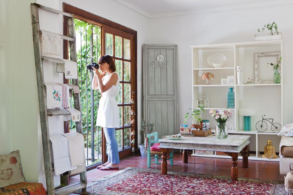 Una casa al m s puro estilo vintage con un toque bohemio - Casas decoracion vintage ...