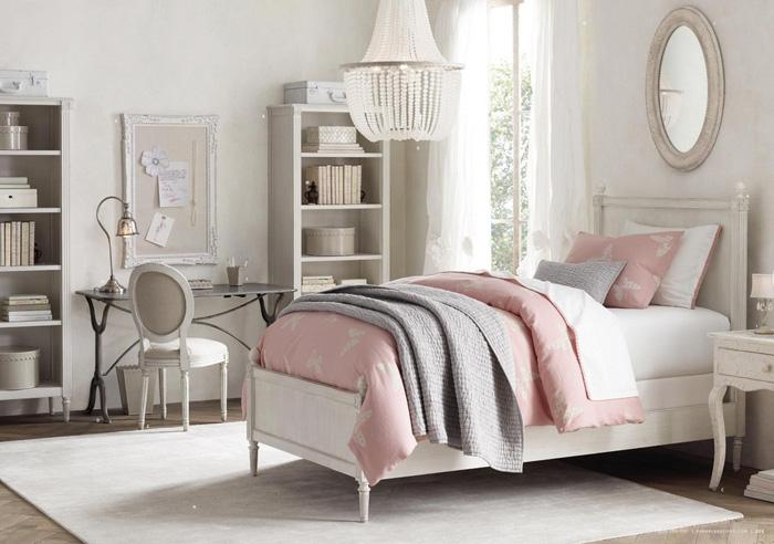11 dormitorios rom nticos en tonos pastel para chicas for Habitaciones de chicas