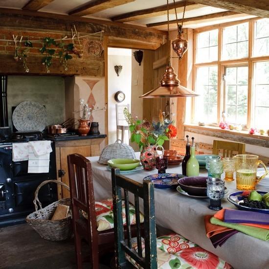 10 ideas para crear una cocina r stica tienda online de decoraci n y muebles personalizados - Ideas de cocinas rusticas ...