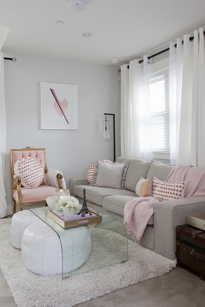 Una peque a casa muy femenina tienda online de decoraci n y muebles personalizados - Casas muy pequenas ...