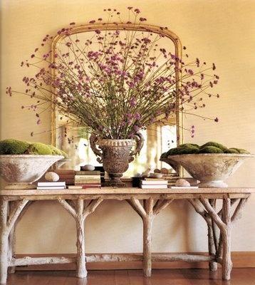 21 ideas para decorar con ramas y troncos de madera 21 - Martha stewart decoracion ...