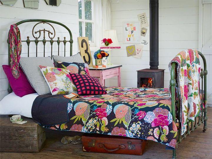 17 ideas para decorar con antiguas camas de forja tienda - Camas de forja antiguas ...