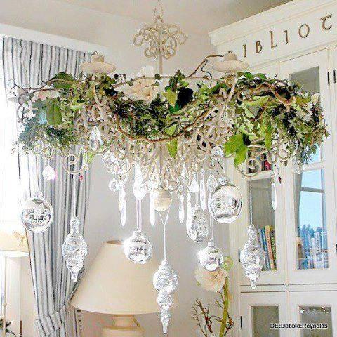 19 ideas para decorar las l mparas en navidad tienda online de decoraci n y muebles personalizados - Lamparas de decoracion ...