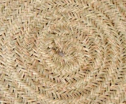 Alfombra redonda de esparto run handmade rug bohemian - Alfombras redondas ...