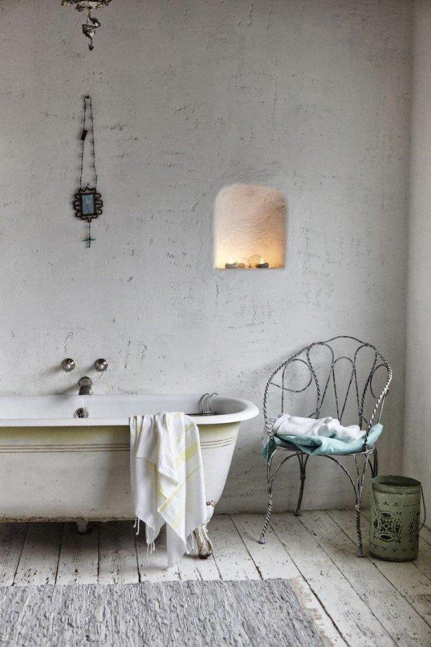 Baño Estilo Shabby Chic:19 ideas para crear un baño shabby chic