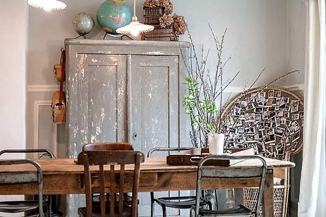 19 ideas para decorar con un armario el sal n tienda for Armario de pared con entrada equipada