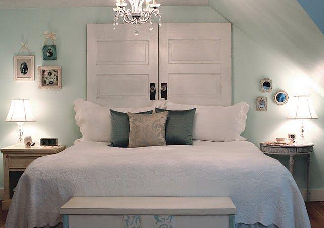 20 cabeceros de cama con puertas recuperadas 20 headboard - Cabeceros de cama leroy merlin ...