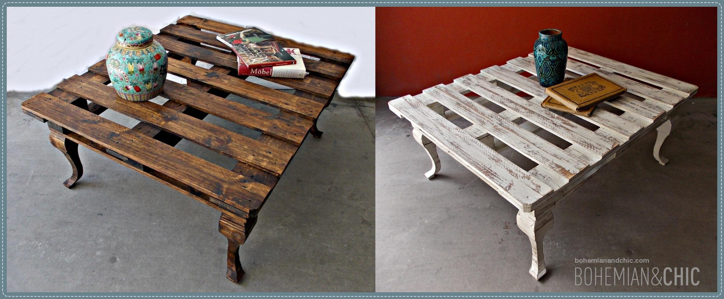 Como hacer una mesa de centro con un palet bohemian and chic for Como hacer una mesa de centro