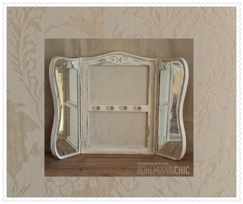 Como transformar un antiguo espejo en colgador how to for Colgador de toallas de bano