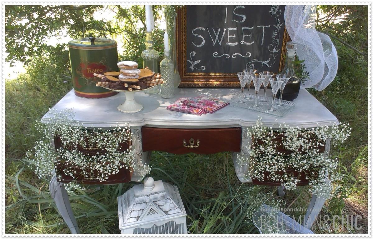 Para bodas con una decoraci n nica original y for Decoracion tipo vintage