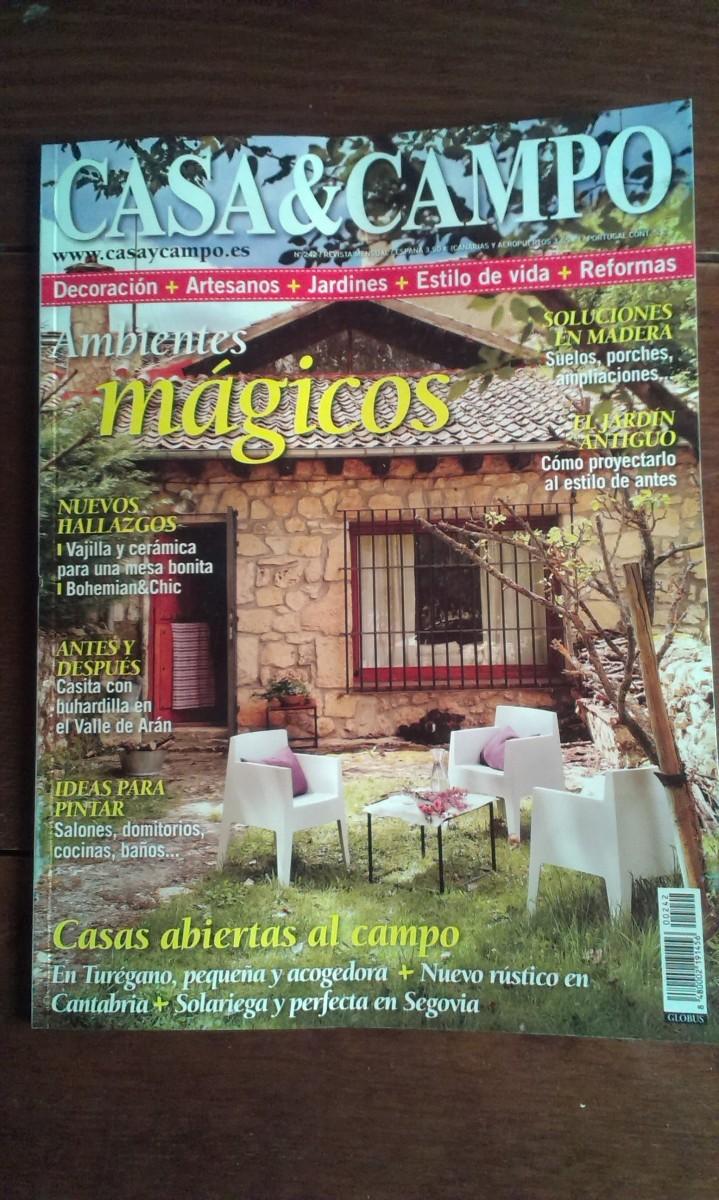 Bohemian chic en la revista casa y campo tienda online for Casa y jardin revista pdf