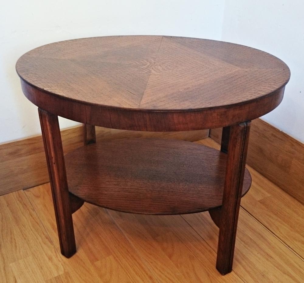 Mesa auxiliar vintage ovalada vintage oval coffee table bohemian and chic - Mesa auxiliar ...