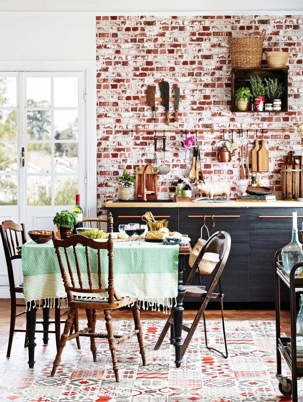 Una Cocina Estilo Vintage Con Toques Industriales Tienda Online De - Cocina-estilo-vintage