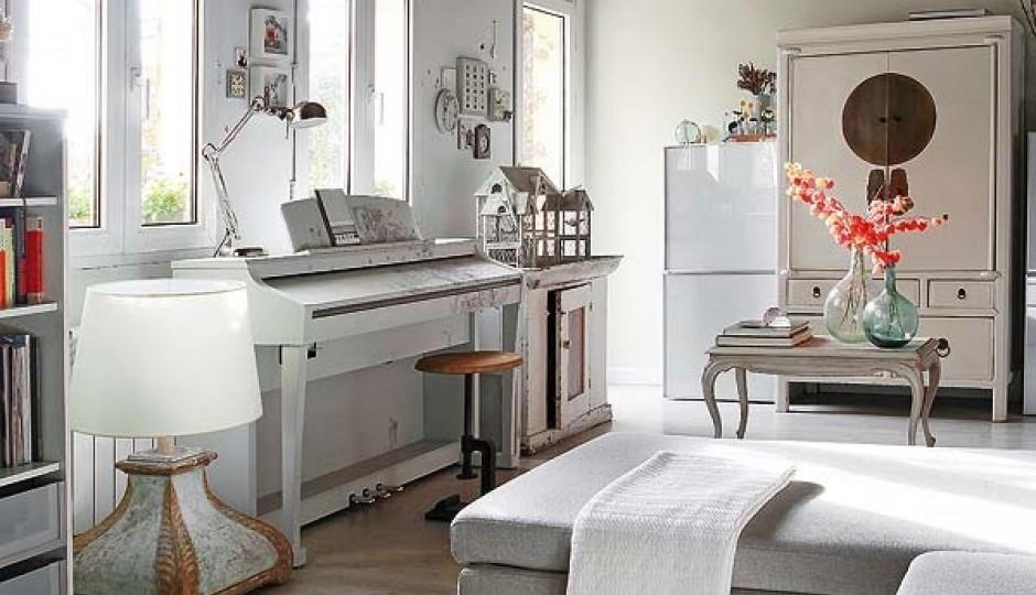 Un apartamento r stico chic en madrid tienda online de Casas de muebles en madrid