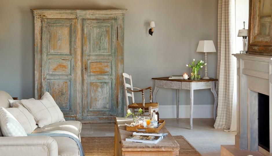 ideas de decoración de la sala de estar boho 19 Ideas Para Decorar Con Un Armario El Saln
