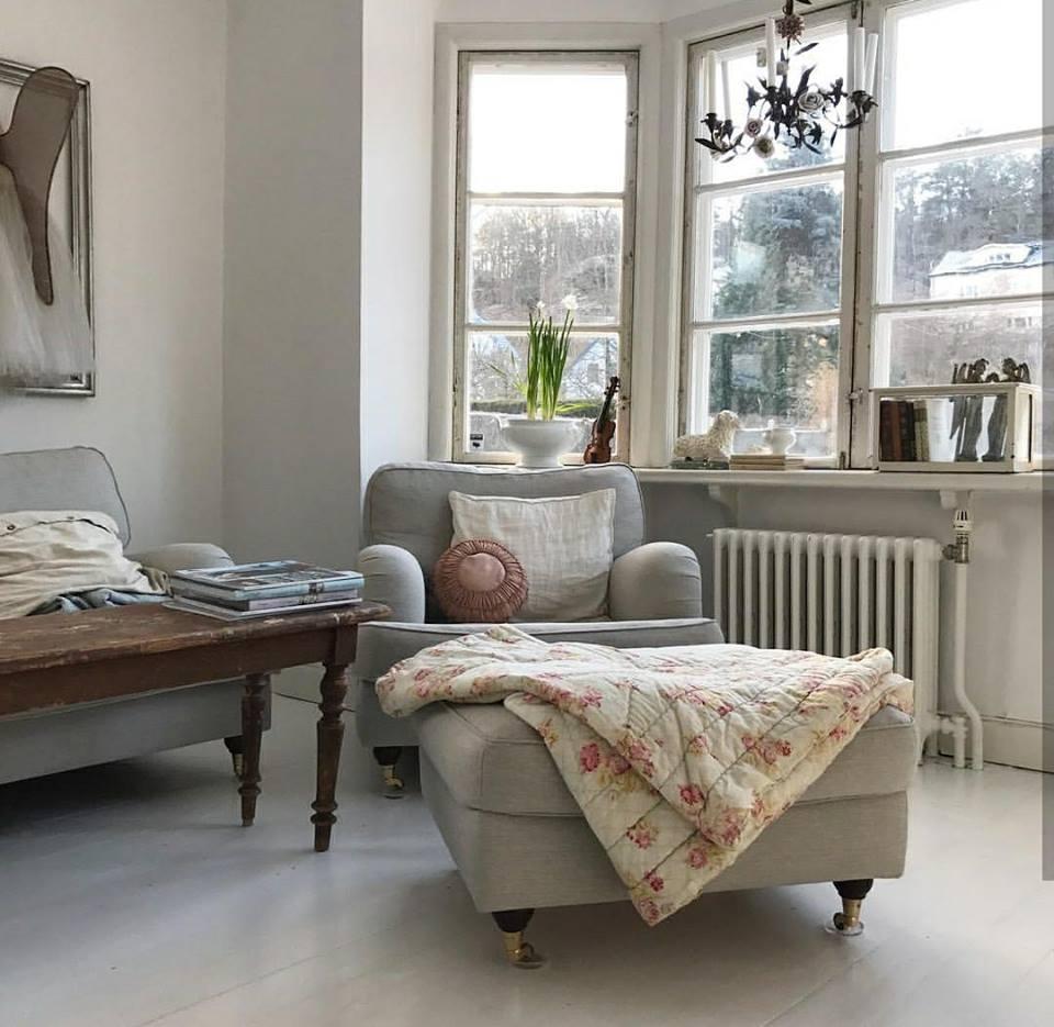 Una casa de estilo vintage con uno toque chic tienda online de decoraci n y muebles personalizados - Casas estilo vintage ...