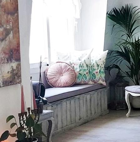 Un piso con decoraci n personalizada estilo shabby chic for Decoracion piso pareja joven