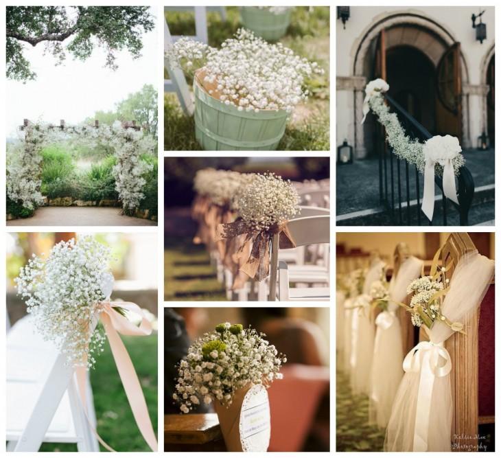 Paniculata for Ideas para decorar una boda
