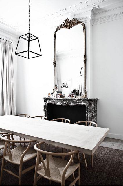 por supuesto en el dormitorio como conjunto formando parte con una cmoda tocador o consola o slo posado en el suelo o colgado en la pared a modo de espejo