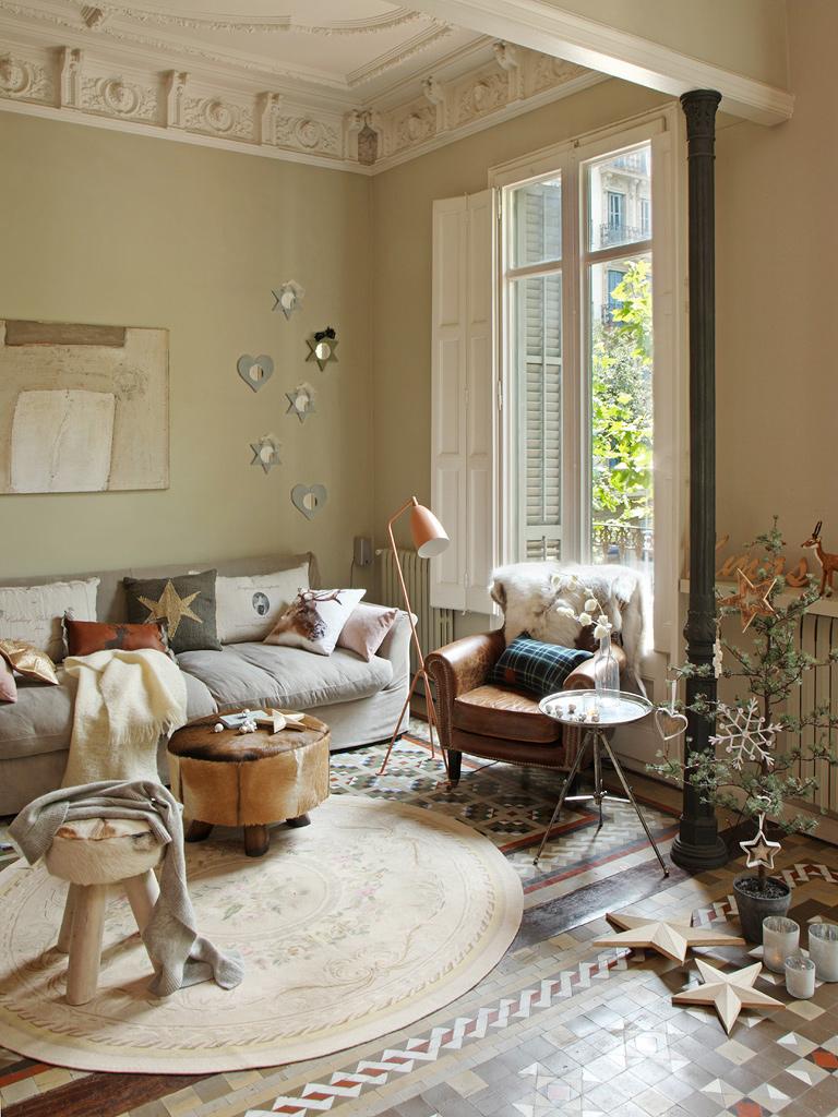 Un piso antiguo con mucha elegancia