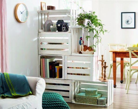 35 ideas para decorar con cajas de frutas Tienda online de