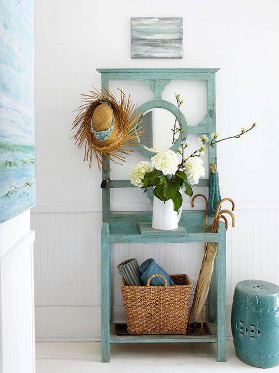 14 ideas para decorar recibidores peque os tienda online - Muebles recibidores pequenos ...