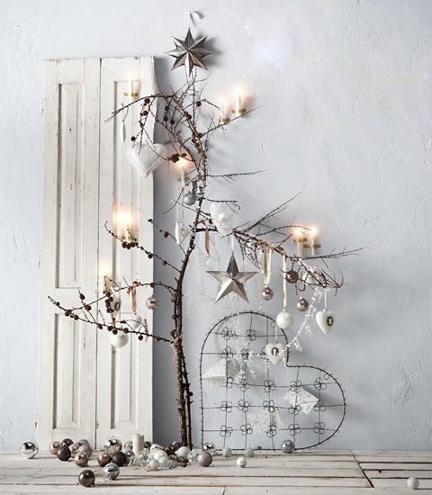 19 Ideas Para Hacer Detalles Navidenos Con Ramas Secas Tienda - Ramas-de-arboles-para-decoracion