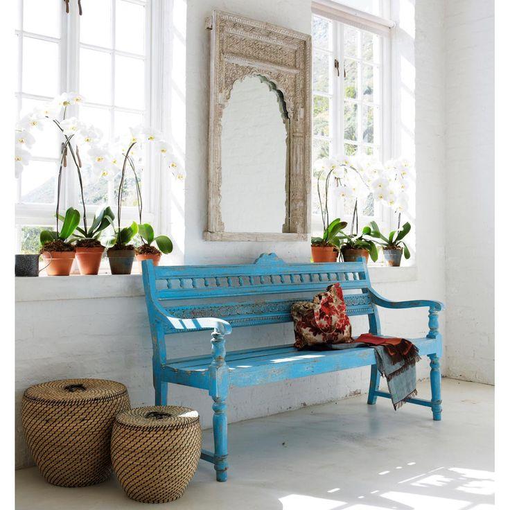 10 bancos azules reciclados para el exterior de la casa tienda online de decoraci n y muebles. Black Bedroom Furniture Sets. Home Design Ideas