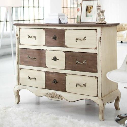 9 t cnicas para pintar una c moda tienda online de for Relooking de meuble ancien