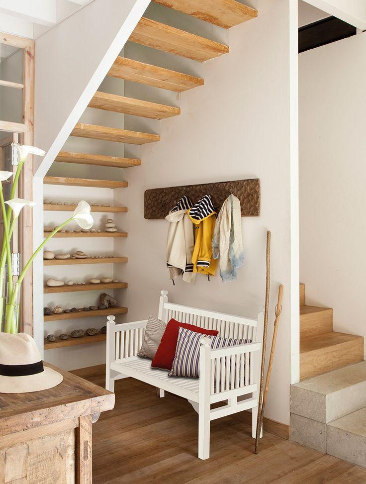 Una ruina del siglo xvii convertida en una hermosa casa - Decorar una escalera ...