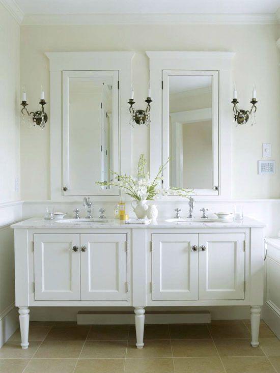 7 ideas originales muebles para lavabos dobles hechos con Muebles de lavabo online
