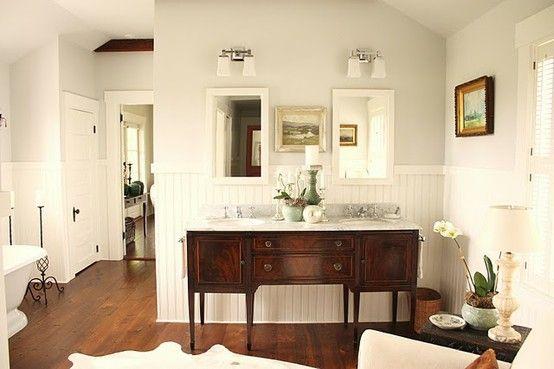 7 ideas originales muebles para lavabos dobles hechos con aparadores antiguos tienda online de - Aparadores originales ...