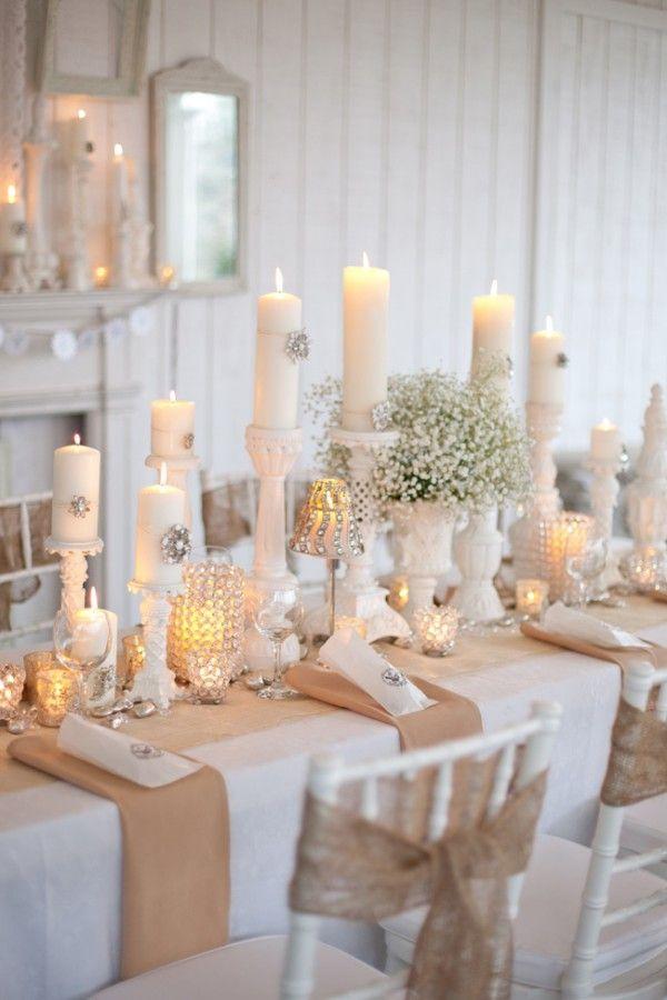 23 ideas para utilizar arpillera en una boda : Tienda online de decoraciu00f3n y muebles personalizados