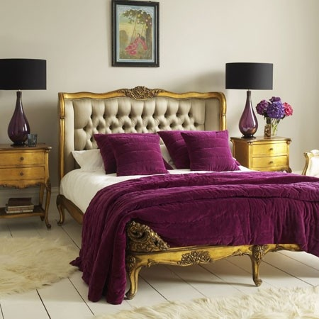 camas tapizadas estilo luis xv louis xv upholstered beds