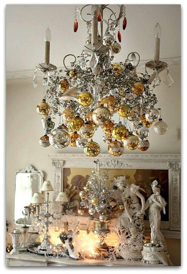 19 ideas para decorar las l mparas en navidad tienda online de decoraci n y muebles personalizados - Lamparas y decoracion ...