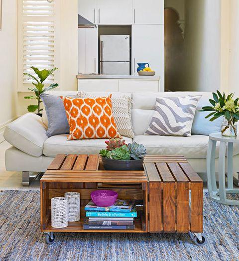 35 ideas para decorar con cajas de frutas tienda online for Disegni di mobili creativi