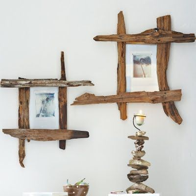 21 ideas para decorar con ramas y troncos de madera 21 - Troncos de madera para decorar ...
