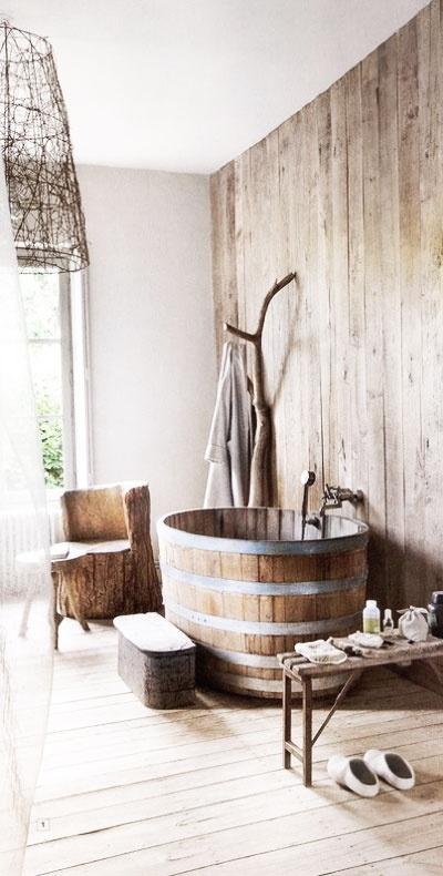 Tinas De Baño Viejas:17 ideas para conseguir un baño de estilo rústico