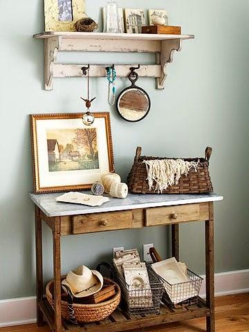 32 ideas para decorar con cestos de alambre tienda - Cosas para decorar el cuarto ...