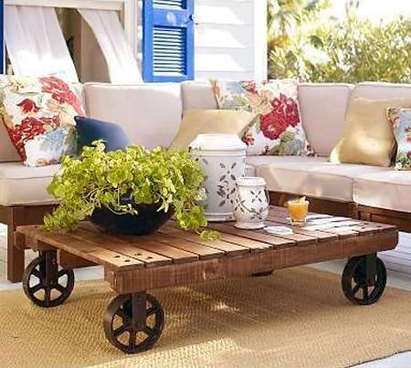 8 ideas para poner una mesa de palet en el exterior | Tienda online ...