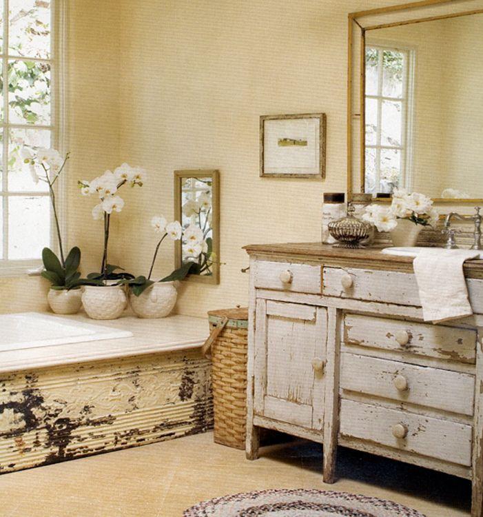 Decoracion Baño Estilo Antiguo: ideas para conseguir un baño de estilo rústico