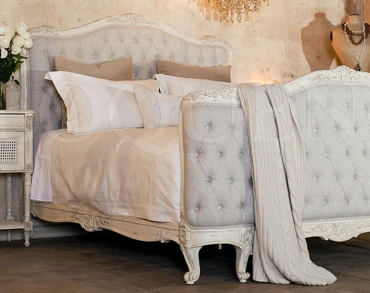 Cama vintage estilo luis xv vintage louis xv bed for Camas estilo vintage