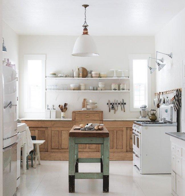 cómo crear una cocina de estilo rústico actual | Tienda online de ...